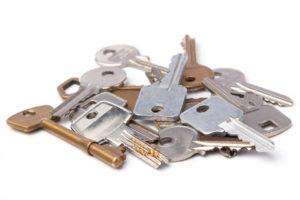Schlüssel Haufen transparent